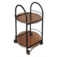 Стол сервировочный Мебелик Гольф черный