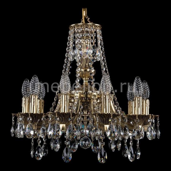 Подвесная люстра Bohemia Ivele Crystal 1771/10/150/A/GB 1771