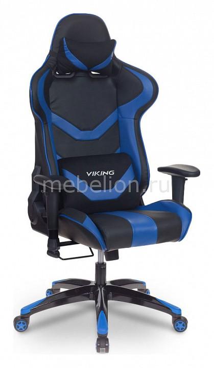 Кресло игровое Бюрократ CH-772N/BL+BLUE компьютерное кресло бюрократ ch 827 bl blue black blue