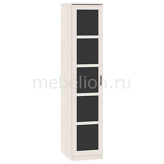 Шкаф для белья Токио СМ-131.10.001 дуб белфорт/дуб белфорт/венге цаво