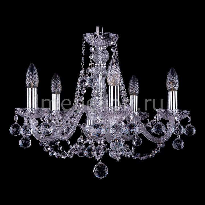 Подвесная люстра Bohemia Ivele Crystal 1406/5/160/Ni/Balls 1406