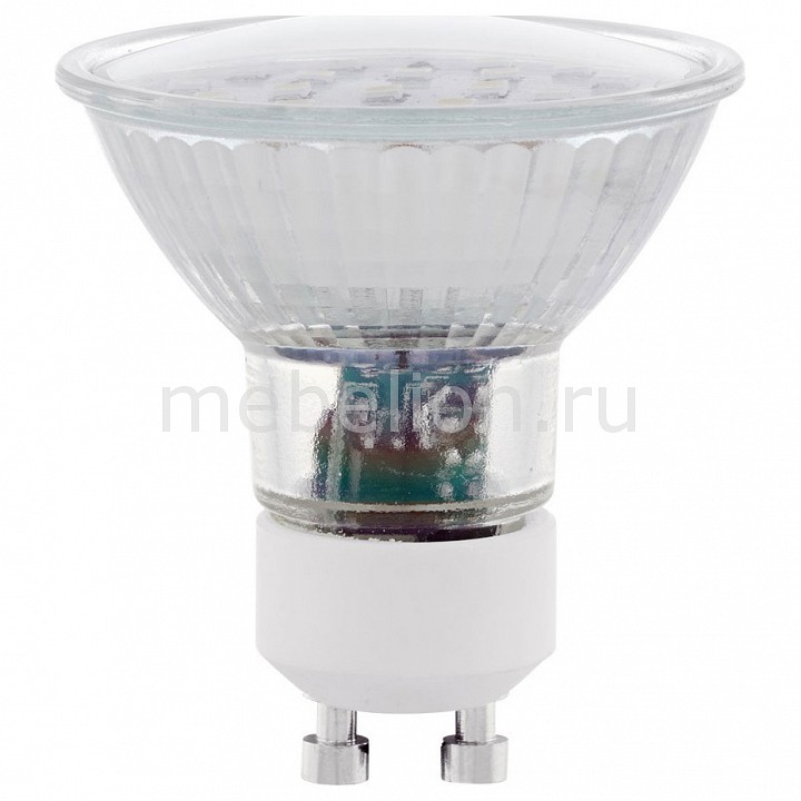 Лампа светодиодная [поставляется по 10 штук] Eglo Лампа светодиодная SMD GU10 5Вт 4000K 11536 [поставляется по 10 штук] цена