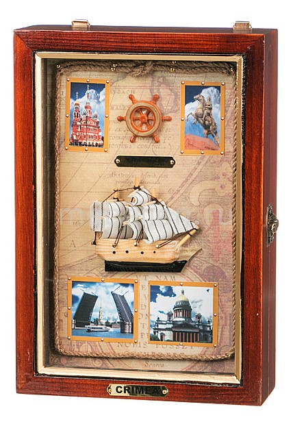 Ключница (17х27 см) Санкт-Петербург 271-120  журнальный столик курган