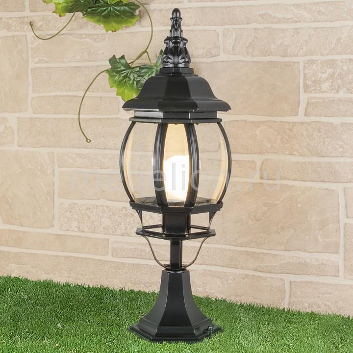 Наземный низкий светильник Elektrostandard GL 1001S черный elektrostandard gl 1004h черный