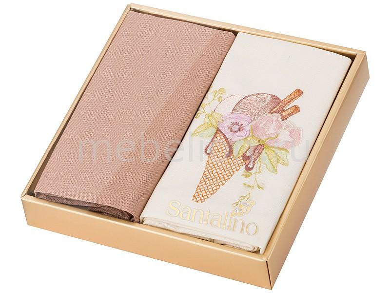 Салфетка АРТИ-М Набор из 2 салфеток (40х40 см) Мороженое арти м 8х9 см 348 308