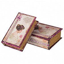 Шкатулка декоративная АРТИ-М Набор из 2 шкатулок декоративных 184-288