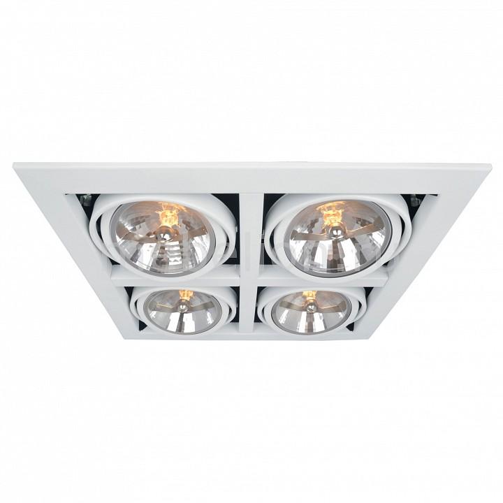Встраиваемый светильник Arte Lamp A5935PL-4WH Cardani
