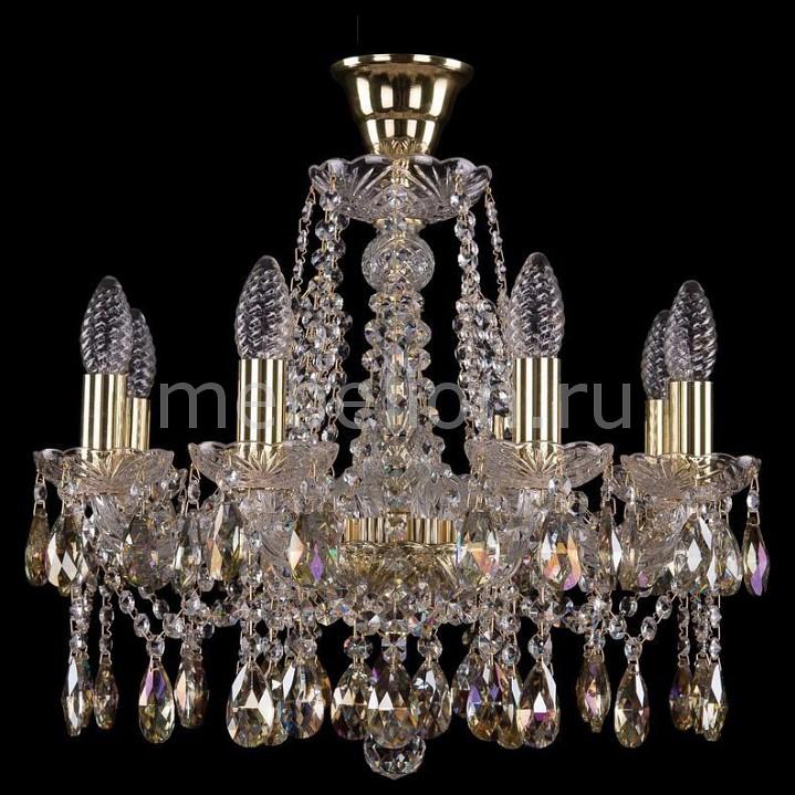 Подвесная люстра Bohemia Ivele Crystal 1413/8/165/G/K701 1413