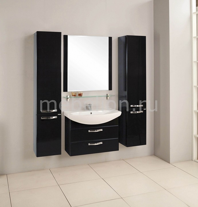 Гарнитур для ванной Акватон Ария 80М