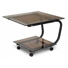 Стол журнальный Мебелик Дуэт 9 черный