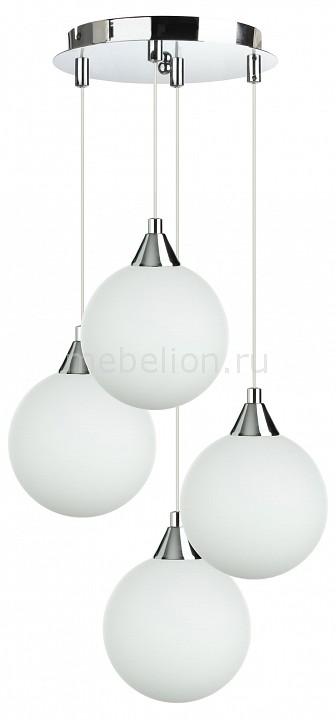 Подвесной светильник 33 идеи PND.101.04.01.CH+S.01.WH(4) CH_S.01.WH
