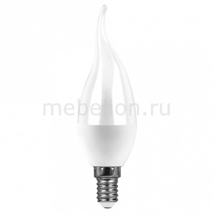 Лампа светодиодная [поставляется по 10 штук] Feron Лампа светодиодная E14 220В 7Вт 2700 K LB-97 25760 [поставляется по 10 штук] лампа светодиодная gauss none gu5 3 7вт 220в 2700 k 101505107