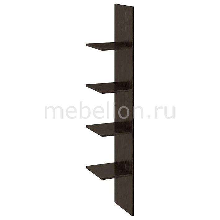 Полки Мебель Трия Вега ТД-196.01.01 cтенка для гостиной трия вега тд 196 01 венге линум белый глянец