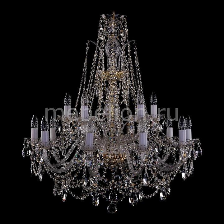 Подвесная люстра Bohemia Ivele Crystal 1411/10_5/300/G 1411