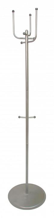 Вешалка напольная Мебелик Вешалка-стойка Пико 5 металлик вешалка напольная мебелик вешалка стойка м 1 металлик
