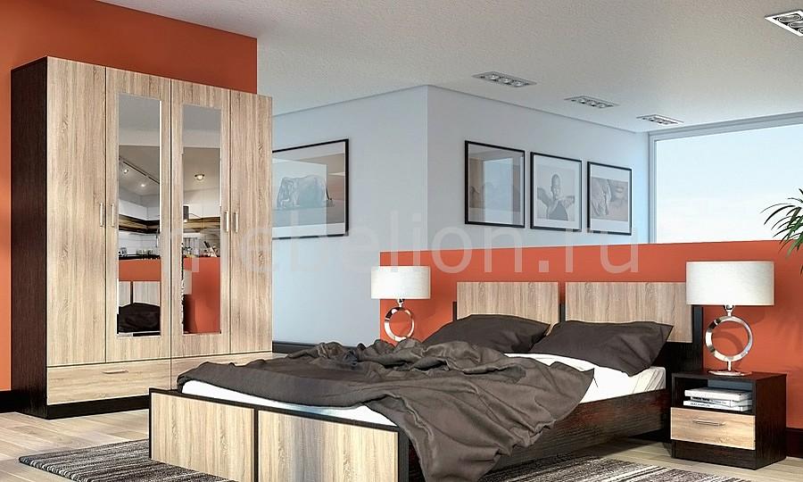 Гарнитур для спальни Флёр 1 дуб феррара/дуб сонома