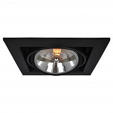 Встраиваемый светильник Cardani A5935PL-1BK