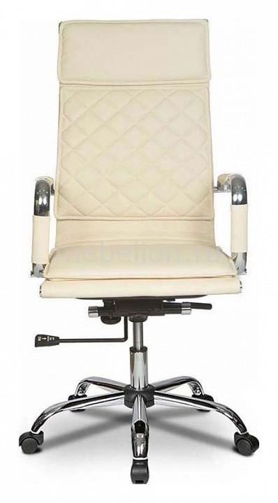 Кресло компьютерное Бюрократ CH-991/Ivory слоновая кость  тумбочка из вагонки