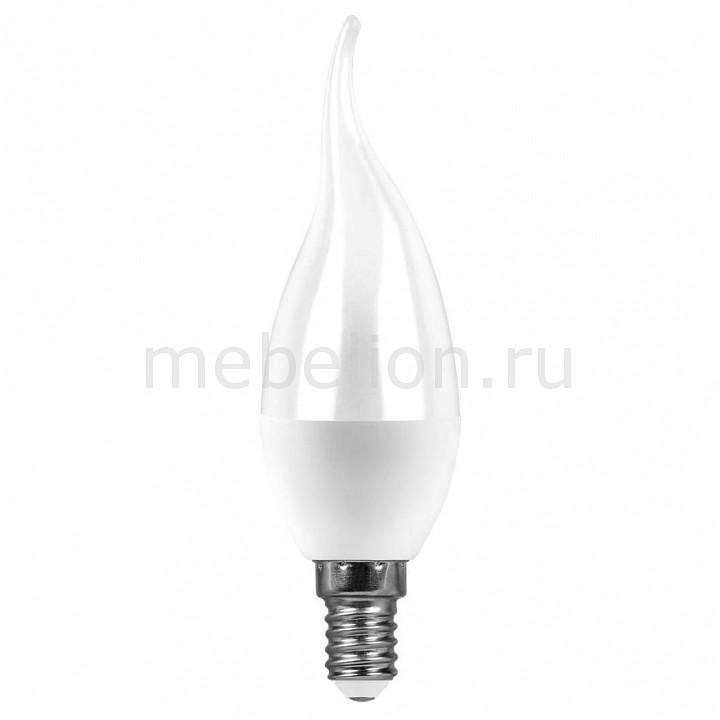 Лампа светодиодная [поставляется по 10 штук] Feron Лампа светодиодная E14 220В 7Вт 2700 K SBC3707 55054 [поставляется по 10 штук] лампа светодиодная gauss none gu5 3 7вт 220в 2700 k 101505107