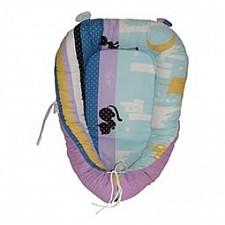 Подушка для новорожденных (30х60 см) Ночные Кошки O-385