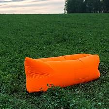 Лежак надувной Airpuf Оранжевый