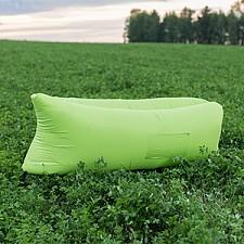 Лежак надувной Airpuf Зеленый