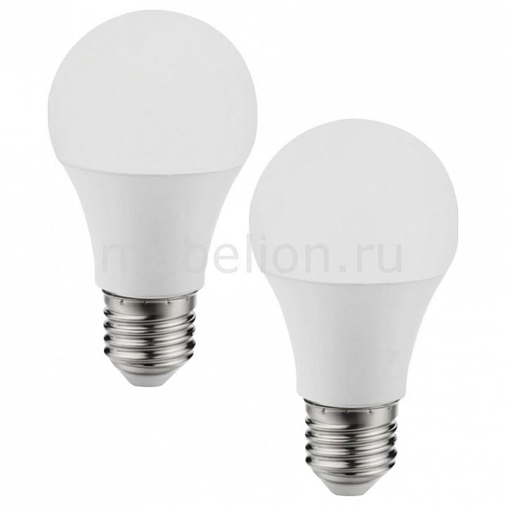 Комплект из 2 ламп светодиодных Eglo A60 Valuepack E27 60Вт 4000K 11485 [поставляется по 10 штук] комплект из 2 ламп светодиодных eglo g9 3вт 220в 4000k 11675