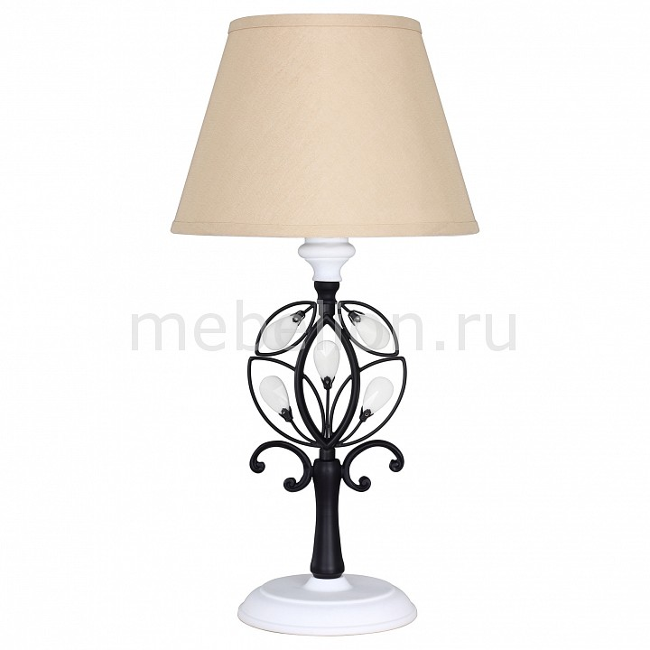 Настольная лампа декоративная Favourite Laurel Black 2174-1T бра favourite laurel black 2174 1w