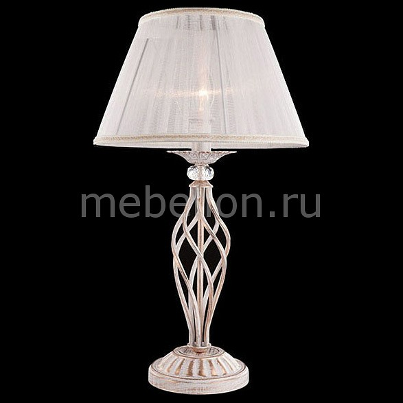 Настольная лампа декоративная Eurosvet 1002-01003 01002/1 белый с золотом eurosvet настольная лампа eurosvet 01002 1 белый с золотом