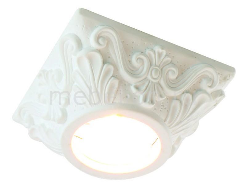 Купить Встраиваемый светильник Cratere A5306PL-1WH, Arte Lamp, Италия
