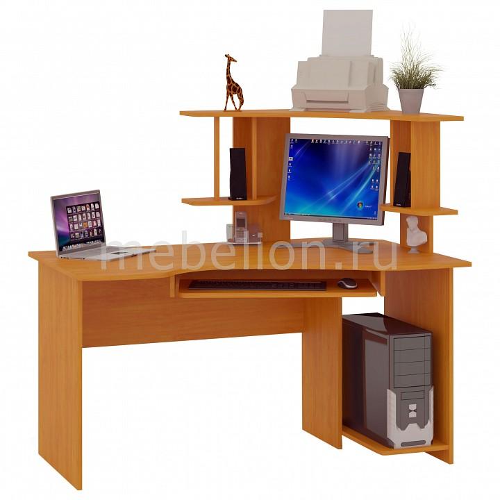 Стол компьютерный угловой правый КСТ-06 ольха