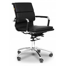 Кресло компьютерное Chairman 750 М черный/хром