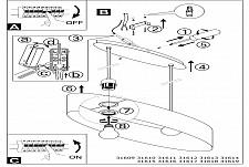 Подвесной светильник Eglo 31618 Maserlo