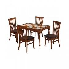 Стол обеденный Багдад CT 3550T дуб темный