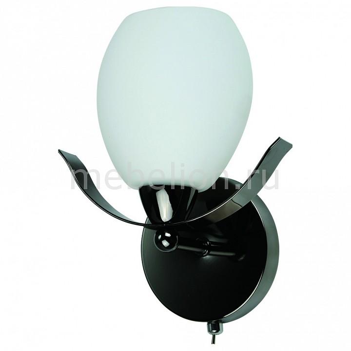 Бра IDLamp 601 601/1A-MOONDarkchrome бра idlamp 601 1a moondarkchrome