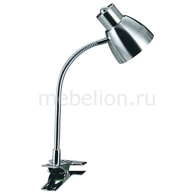 Настольная лампа Globo офисная Nuova 2476  лампа настольная globo с зажимом 2476