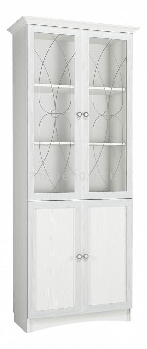 Шкаф-витрина Сильва Прованс НМ 009.23 шкаф комбинированный прованс нм 009 23