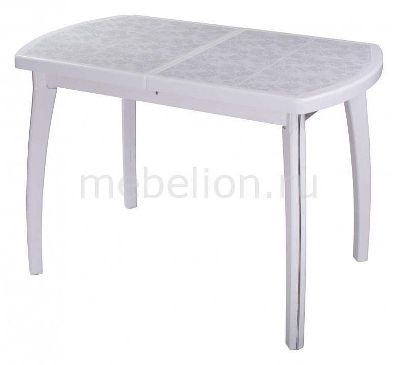 Стол обеденный Домотека Шарди ПО с плиткой и мозаикой