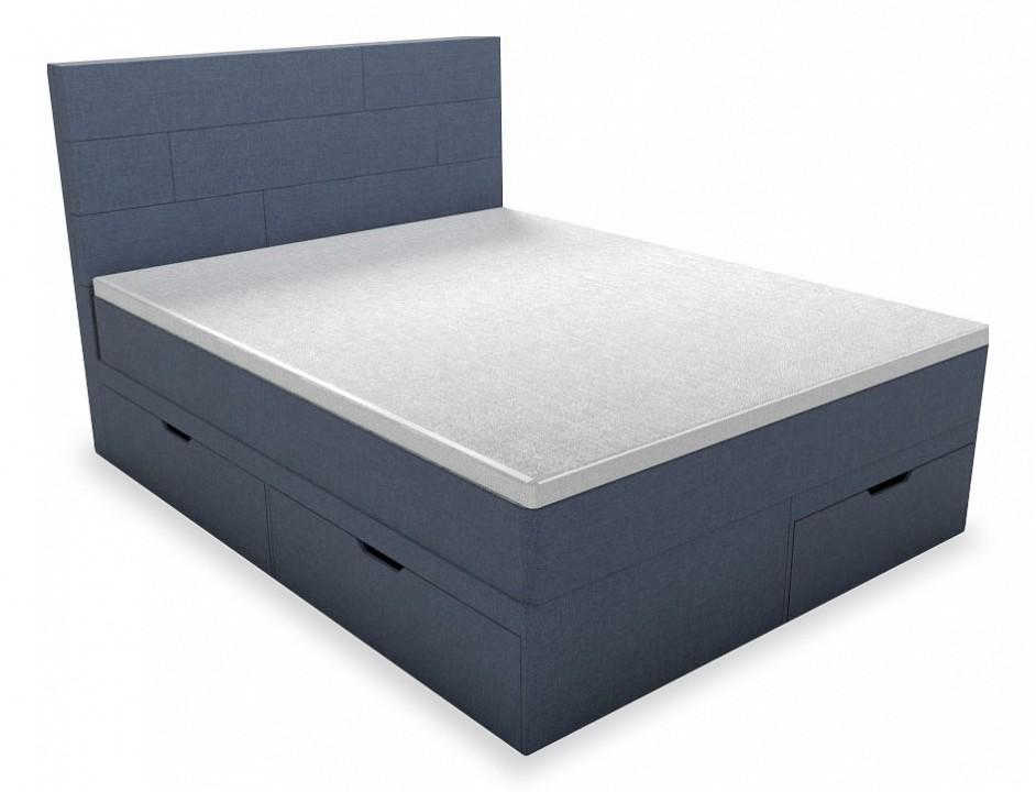 Кровать двуспальная Belabedding с матрасом и топпером Домино 2000x1800 кровати двуспальные belabedding кровать двуспальная с матрасом уэльс 2000x1800