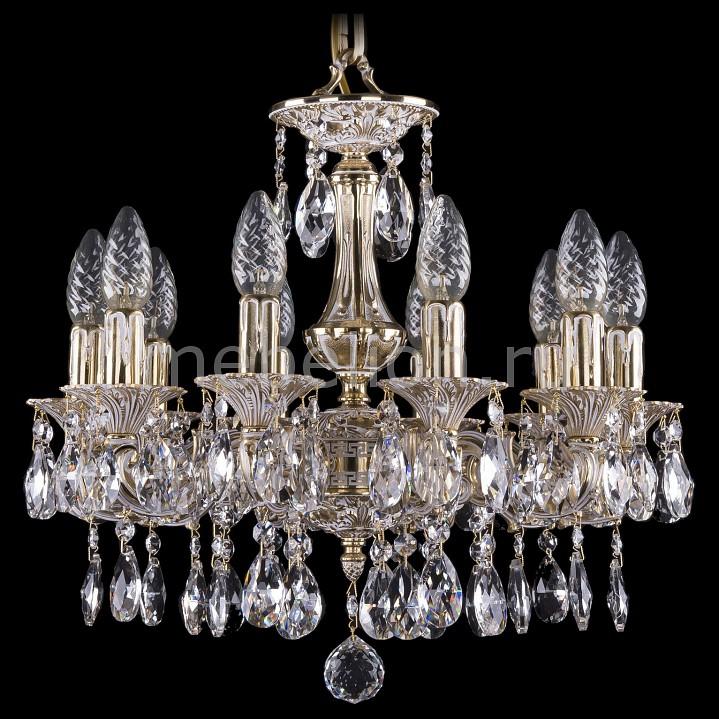 Подвесная люстра Bohemia Ivele Crystal 1707/10/125/A/GW 1707