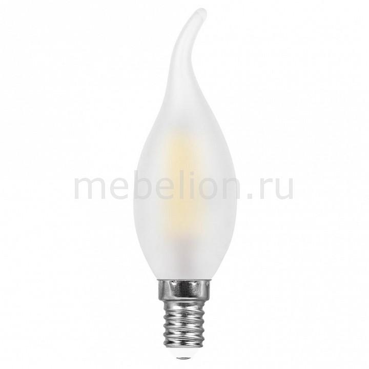 Лампа светодиодная [поставляется по 10 штук] Feron Лампа светодиодная E14 220В 5Вт 2700 K LB-59 25649 [поставляется по 10 штук] лампа светодиодная feron 5вт 230в e14 4000k свеча диммируемая