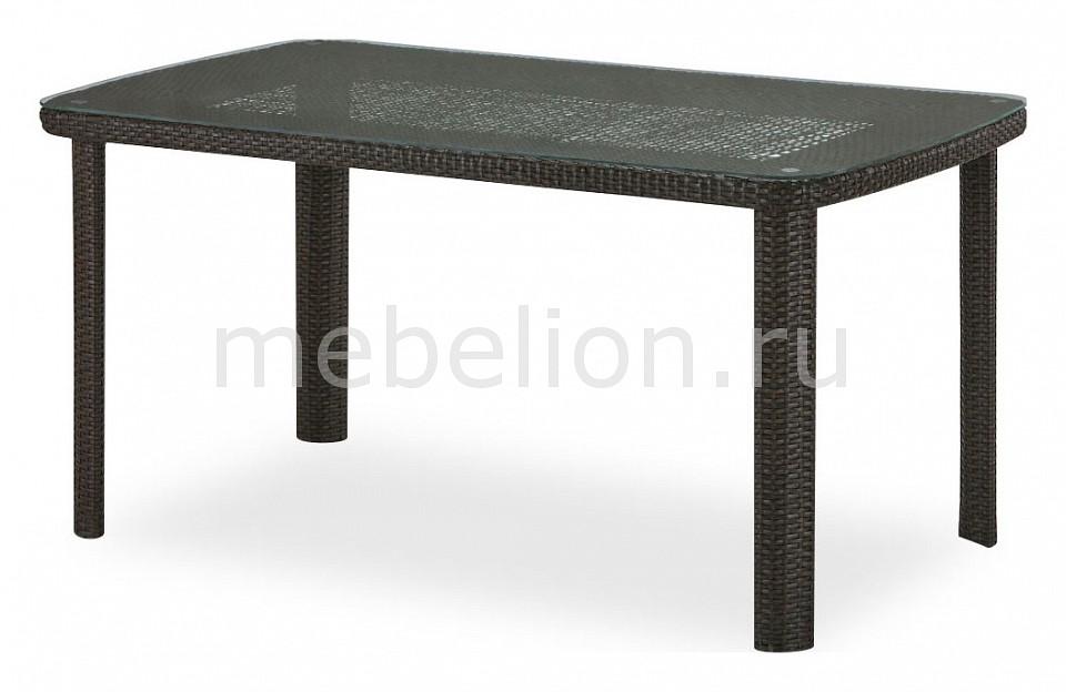 Стол обеденный Afina T51A-W53-150x85 Brown комплект мебели из ротанга афина мебель t282bnt w53 y90c w51 2pcs