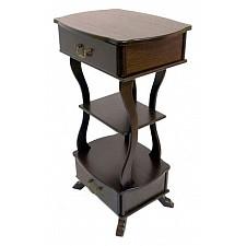 Подставка Мебелик Берже 13 темно-коричневый