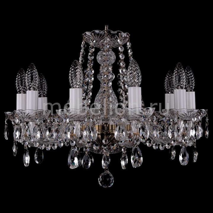 Подвесная люстра Bohemia Ivele Crystal 1402/10/160/Pa 1402