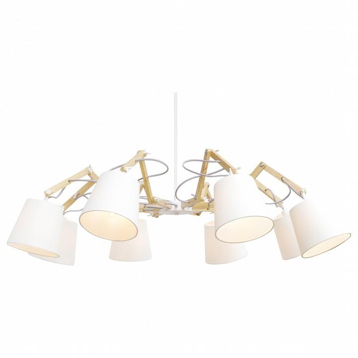 Подвесная люстра Arte Lamp Pinocchio A5700LM-8WH arte lamp prima a9130lm 8wh