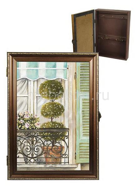 Ключница Акита (24х34 см) Балкончик 312-29
