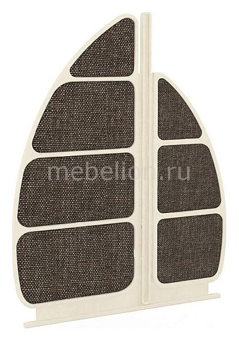 Спинка для кровати Калипсо 509.190 штрихлак/коричневый