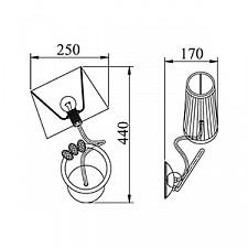 Бра Maytoni ARM014-01-G Elegant 6
