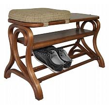 Банкетка-стеллаж для обуви Мебелик Диана