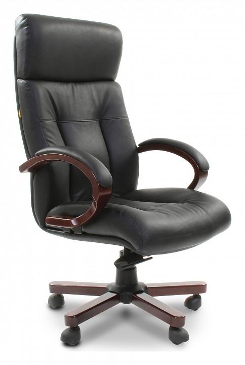 Кресло для руководителя Chairman Chairman 421 черный/орех темный, черный chairman chairman 421